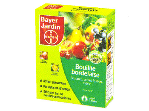 Bayer bouillies bordelaise bernard for Bayer jardin produits insecticides